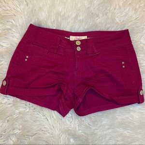 Pink Candie's Shorts